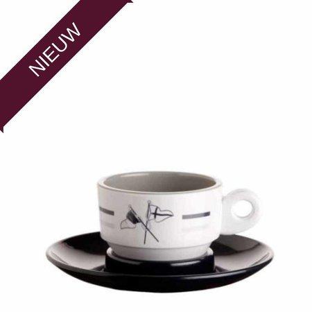 - Welcome on Board - Espressokop met schotel