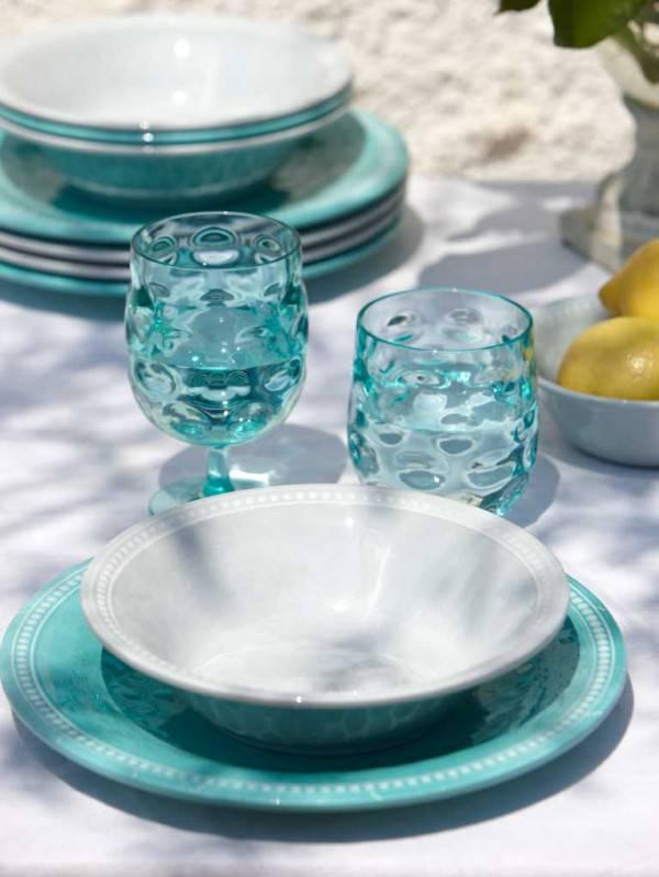 - Harmony - Diner bord - Ø 27 cm - Silver