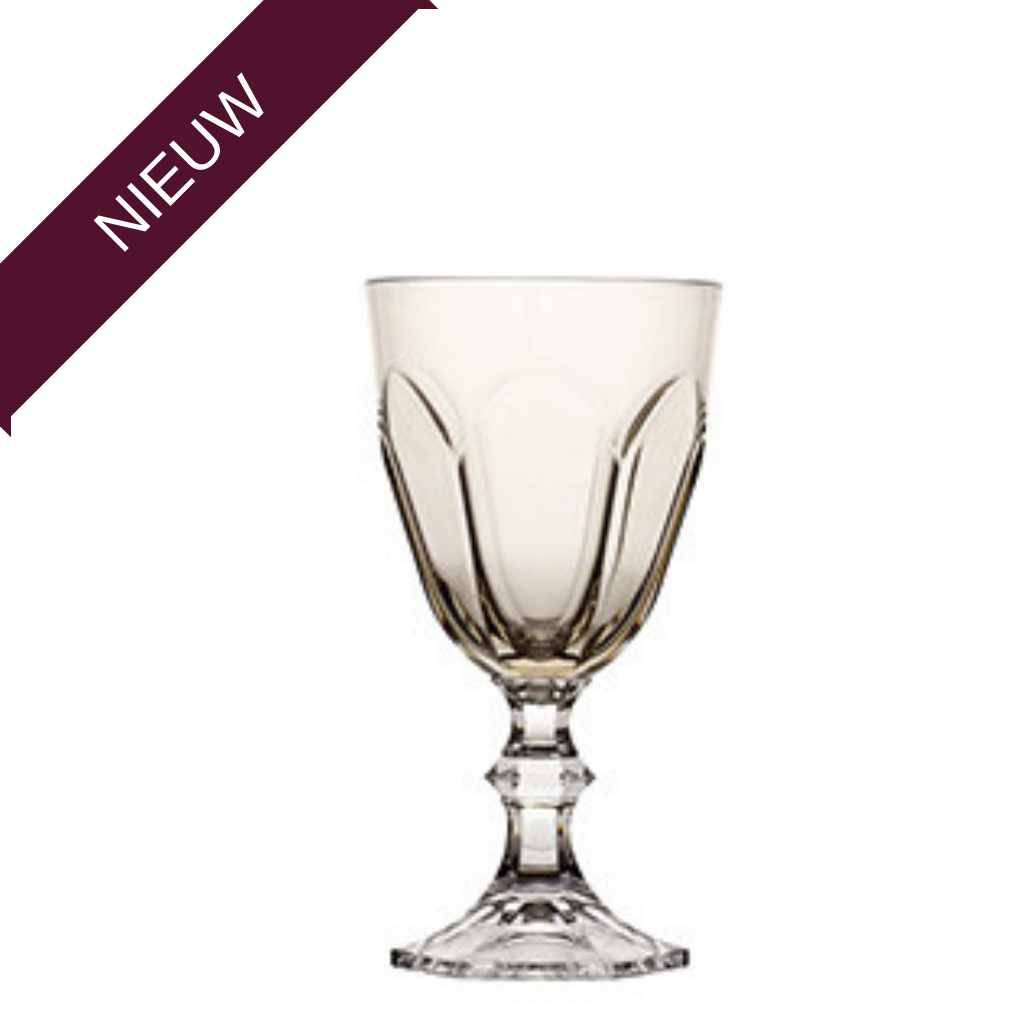 - Harmony - Wijnglas SERENITY - SMOKE - Hoogte 18,3 cm