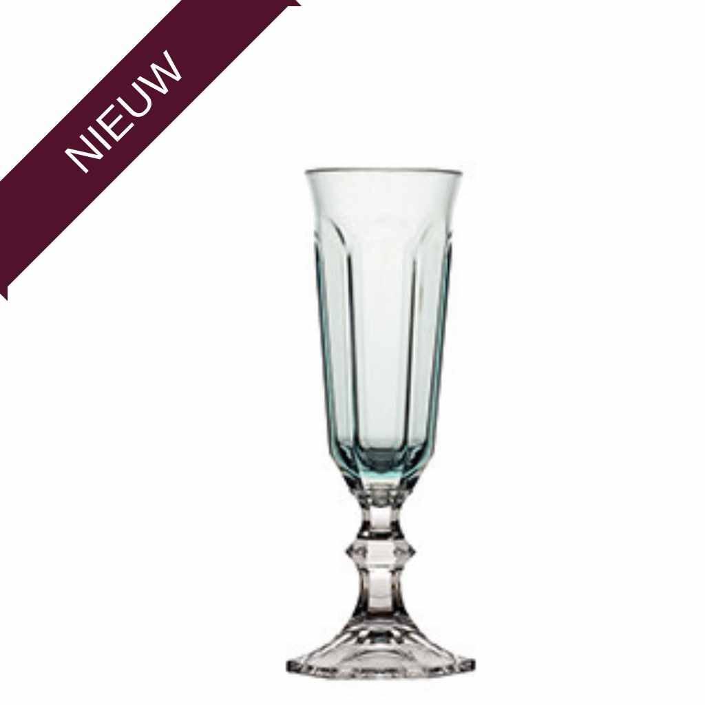 - Harmony - Champagneglas SERENITY - ACQUA - Hoogte 18,3 cm