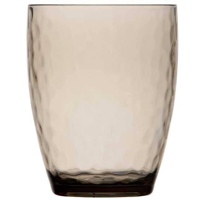 - Harmony - Waterglas - SMOKE - Hoogte 11,3 cm