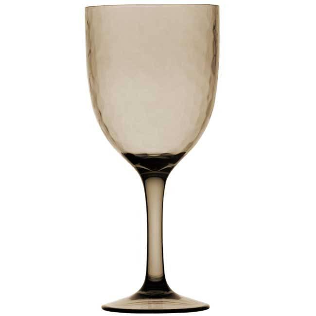 - Harmony - Wijnglas - SMOKE - Hoogte 20,3 cm