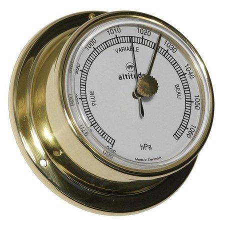 - Barometer Messing - Engelse uitvoering - Ø 71 mm