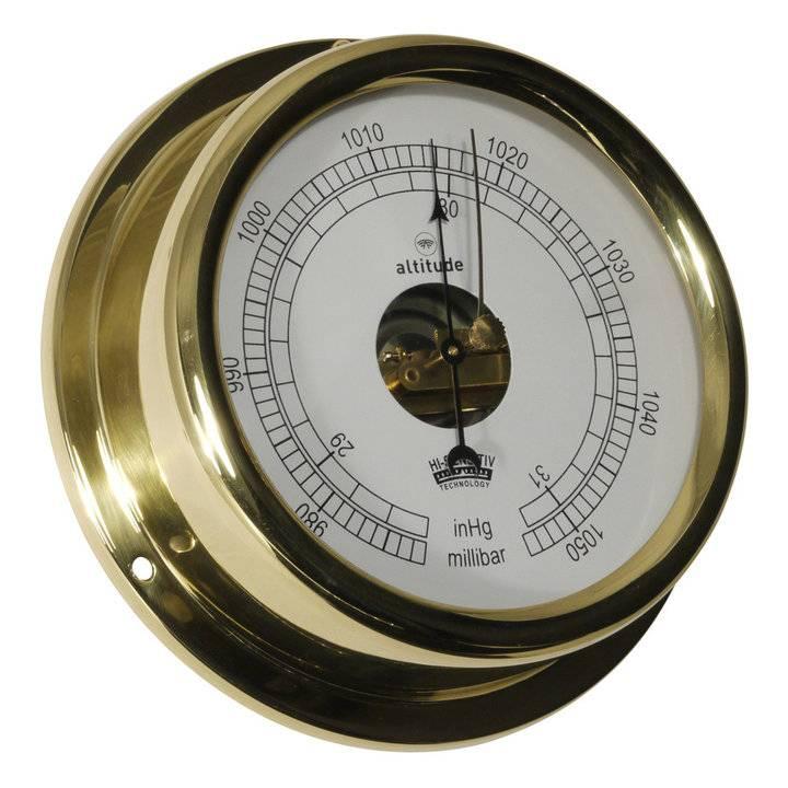 - Barometer - Messing -  Ø 150 mm