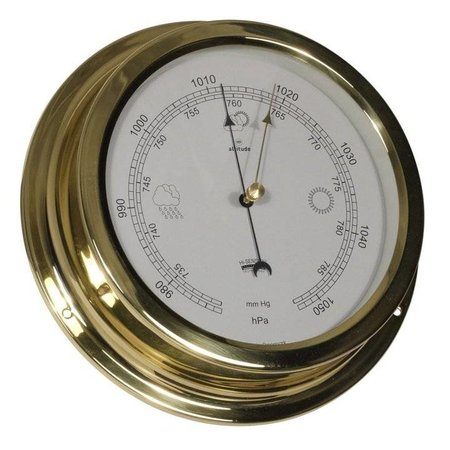 - Barometer - Messing -  Ø 224 mm