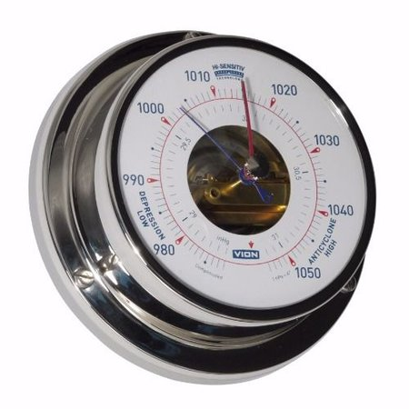 - Barometer - RVS - Ø 97 mm