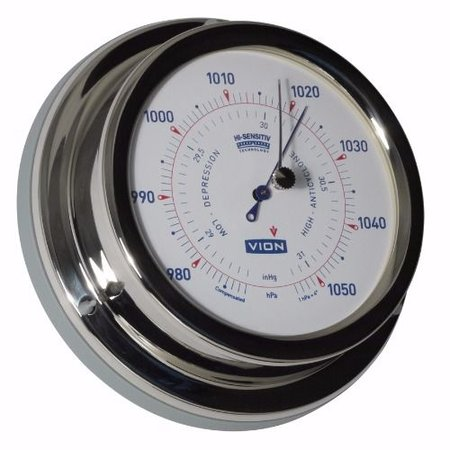 - Barometer - RVS - Ø 129 mm