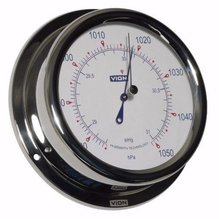 - Barometer - RVS - Ø 150 mm