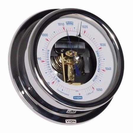 - Barometer Open - RVS - Ø 150 mm