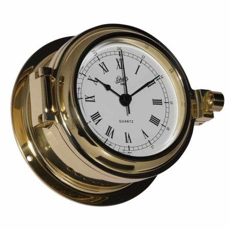 - Quartz klok - Messing - Ø 115 mm