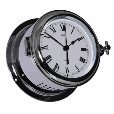 - Quartz klok - Chroom - Ø 140 mm