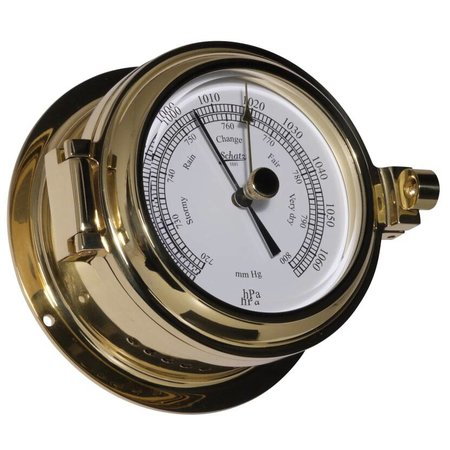 - Barometer - Messing - Ø 115 mm