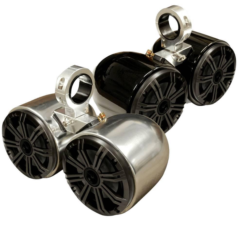 Kicker Double Barrel Speakers - Uni.
