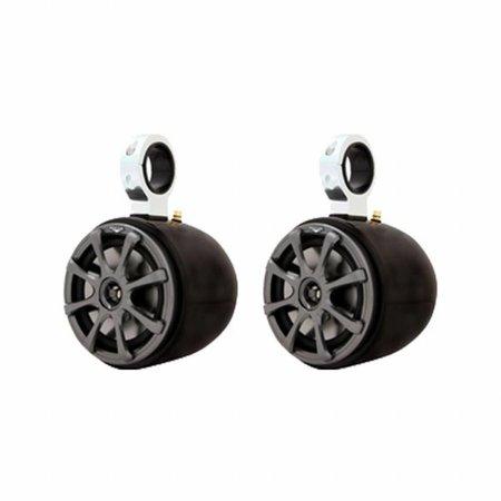 Kicker Single Barrel Black Speaker  - Uni.