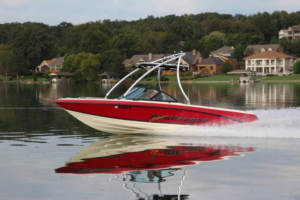 MT2 Polished and Anodized Wakeboard Tower