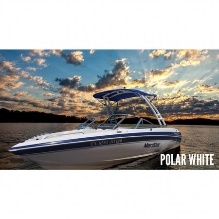 MTK Polar White Forward Facing Wakeboard Tower w/Nav Light