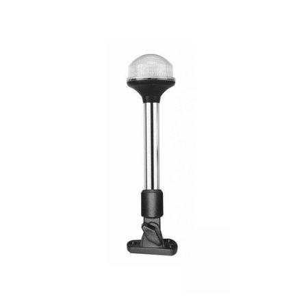 All round licht LED - 23 cm - met verstelbare zwarte voet