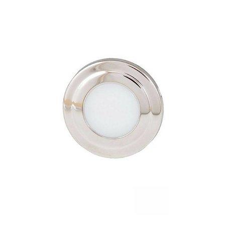 LED Licht Courtesy - Rond - Blauw/Wit Combi