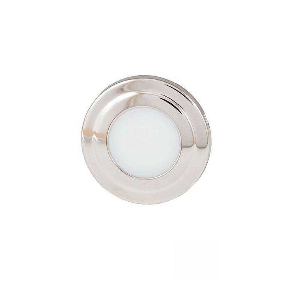 LED Licht Courtesy - Rond - Blauw/Wit Combi