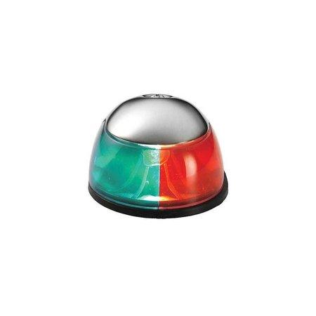 Boeglicht RVS groen en rood