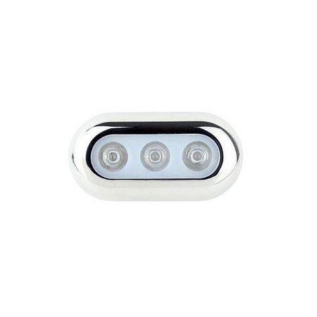 LED onderwaterverlichting - Blauw - RVS behuizing
