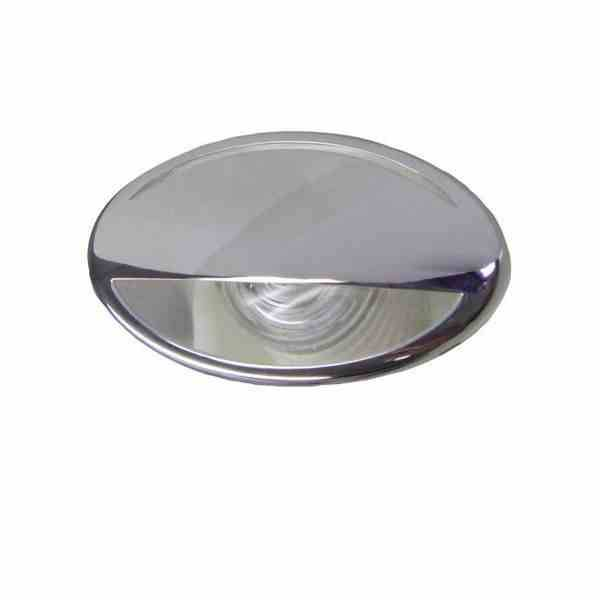 LED Licht Courtesy - RVS - Warm wit