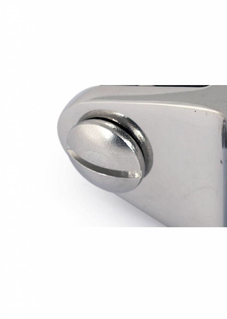 Buiskapbeslag - RVS - Ø 25 mm