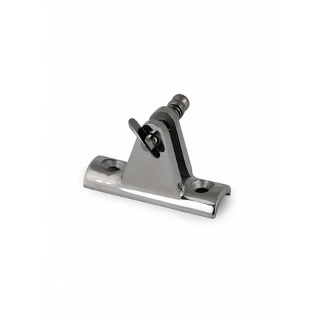 Railing/Raam beugel met gaffelpen - RVS - 20/22/25 mm
