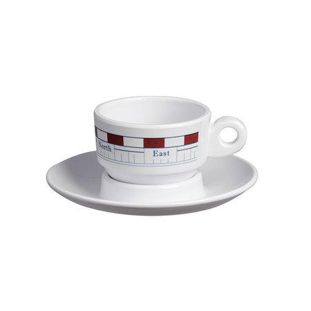 - Mistral - Espresso kop met schotel
