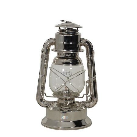 Olielamp Little Wizard - Nikkel - 29,2 cm