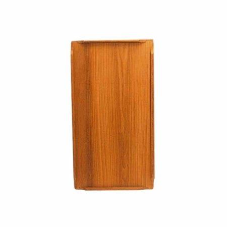 Lichtgewicht tafelblad 55 x 80 cm - Teak fineer