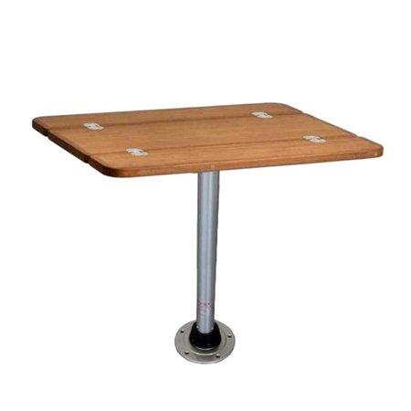 TAFELSET: Uitklapbaar tafelblad 80 x 60 cm | 58 cm Hoog