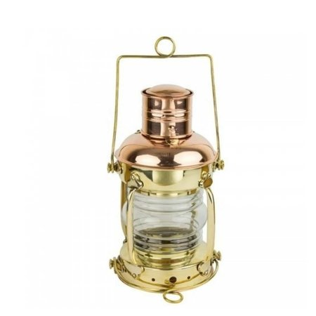Anker olielamp - Messing / Koper - 29cm