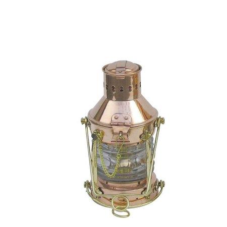 Anker olielamp - Koper - H: 24 cm - Ø 12 cm