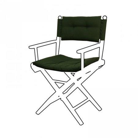 Deluxe kussens voor regisseursstoel I - Groen