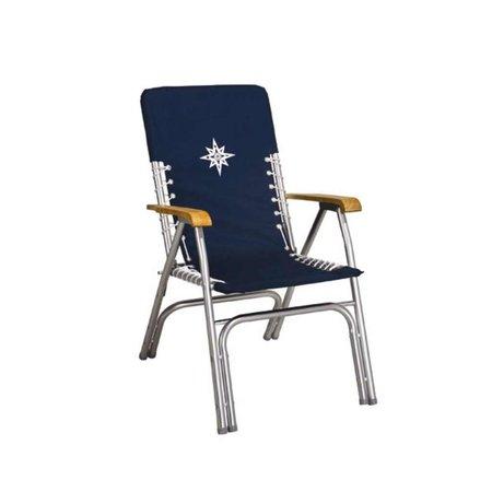 Bootstoel - Dekstoel Deluxe - Navy Blauw