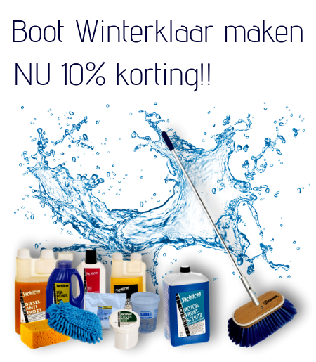 Winter klaarmaken boot