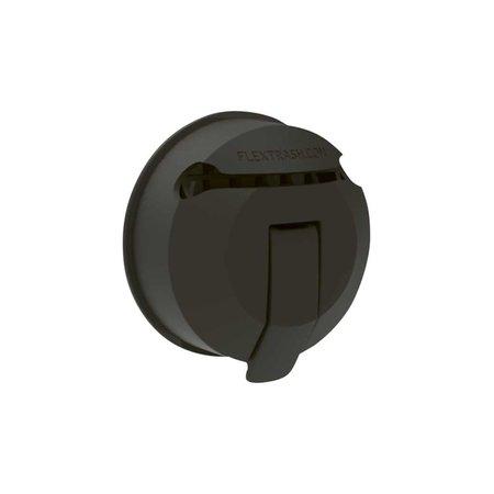Flextrash Vacuclip Zuignap - Zwart