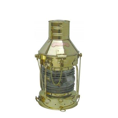 Anker olielamp - Messing - H: 48 cm - Ø 22,5 cm