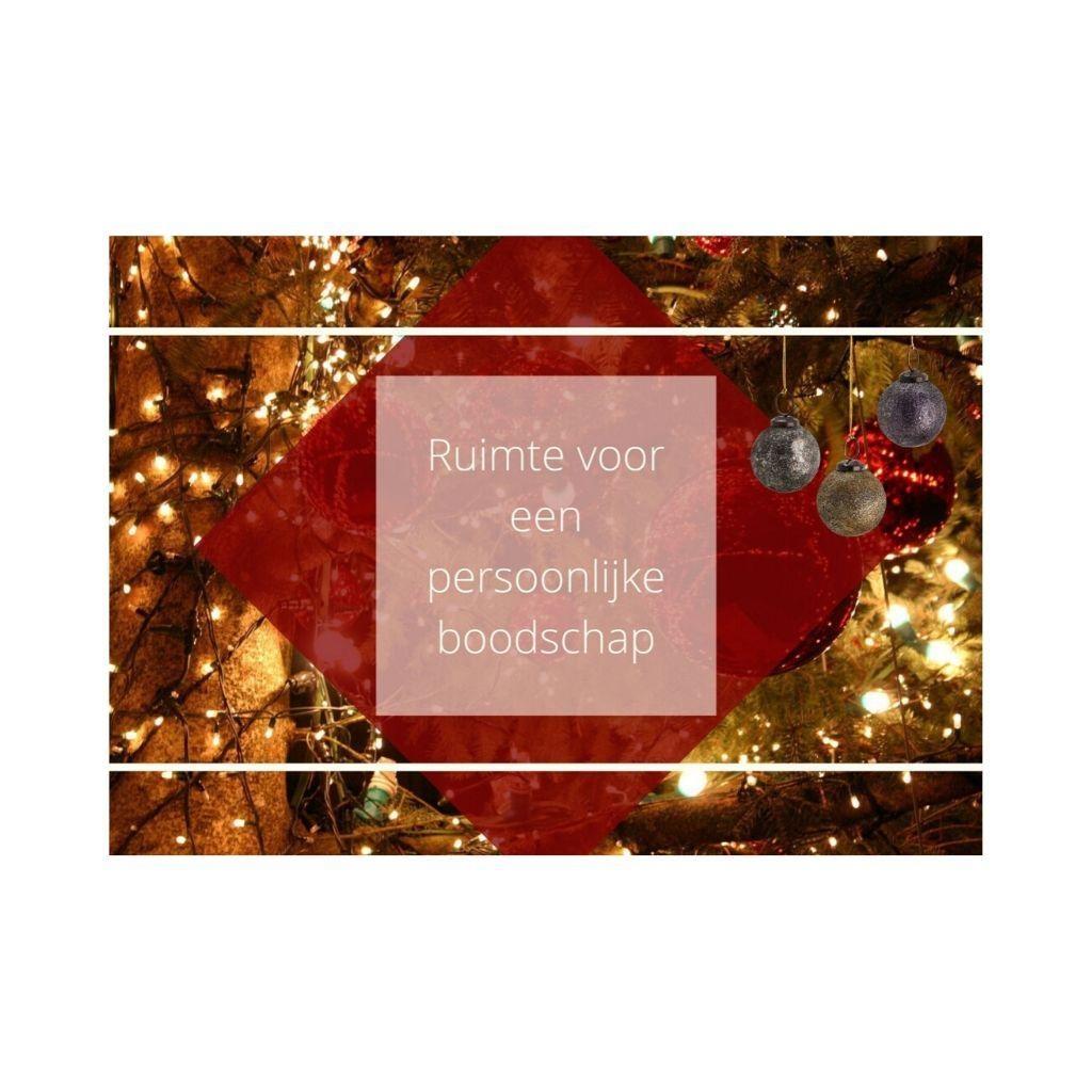 Cadeaubon I - kerst