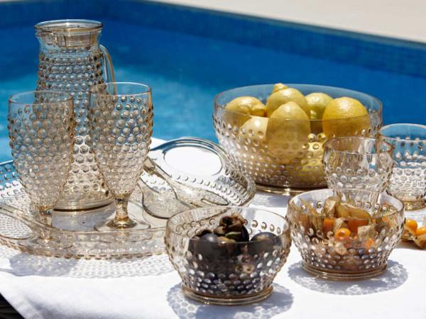 Lux - Waterglas Gold - H 10 cm