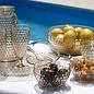 Lux - Slaschaal & Slabestek Gold - 3-delig