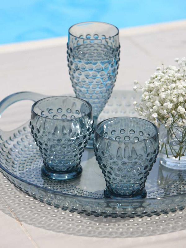 Lux - Waterglas Lagoon - H 10 cm