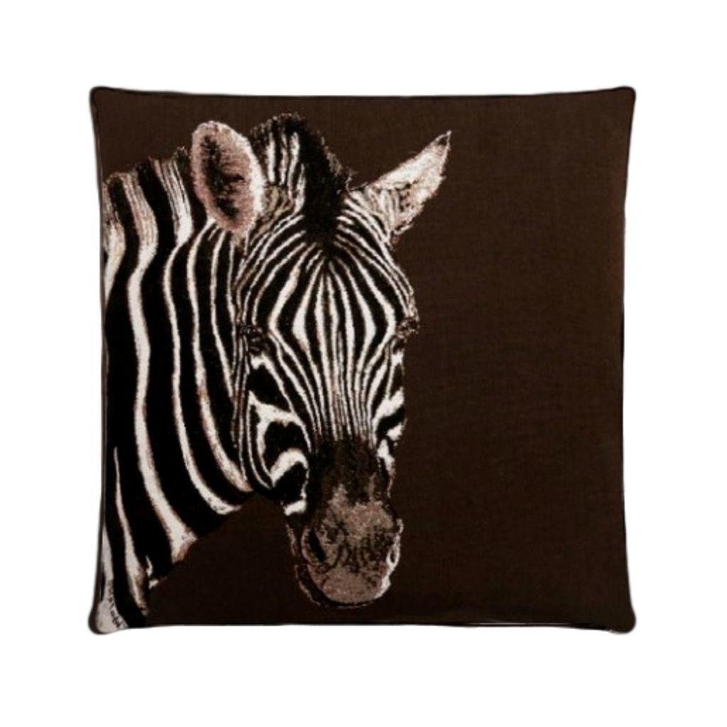 - Kuipkussens African Wildlife Brown - Per set