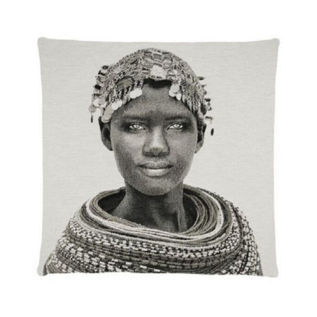 - African Tribes - Samburu girl - Grey