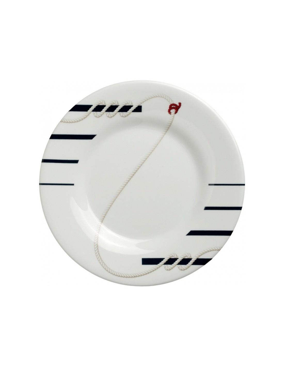 - Cannes- Ontbijt/Dessertbord - 6 stuks - Ø 20 cm
