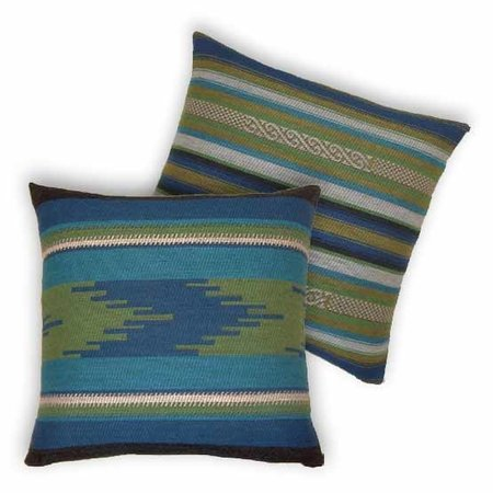- Bohemian - Kussens -Andes - Blauw - Set