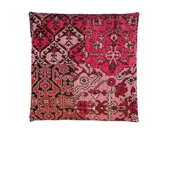- Bohemian - Kussens - Roze - Set/3 - 45 x 45 cm