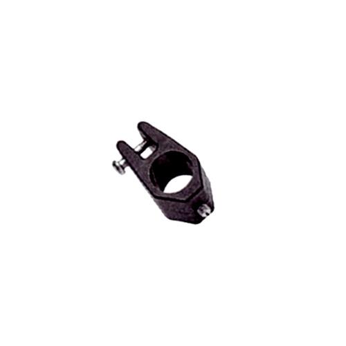 - Bimini Accessoires - Glijdende Klemmen - Ø 22 mm - Nylon - Zwart - 2 Stuks