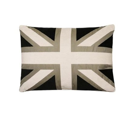 - Union Jack - Kussen - Black